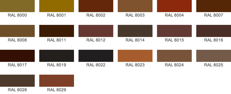 ral kleuren | benedict