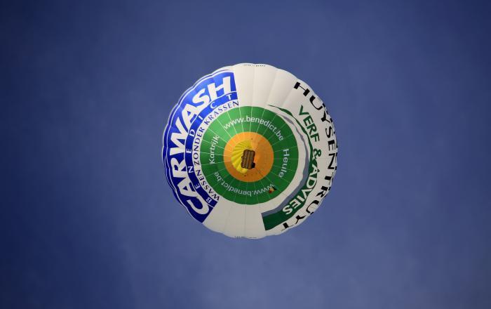 Ballonvaarten Benedict Huysentruyt