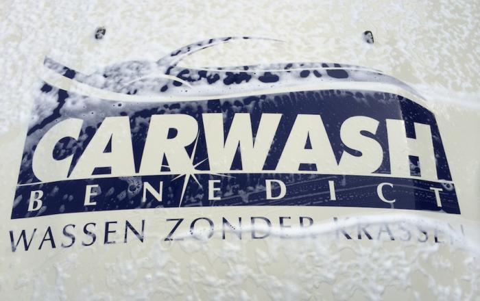 Carwash Benedict Logo Wassen Zonder Krassen