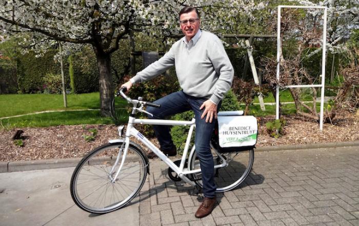 Carwash Benedict maak gebruik van onze fietsen