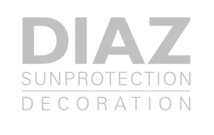 Benedict Huysentruyt Logo gordijnen stoffen Diaz sunprotection